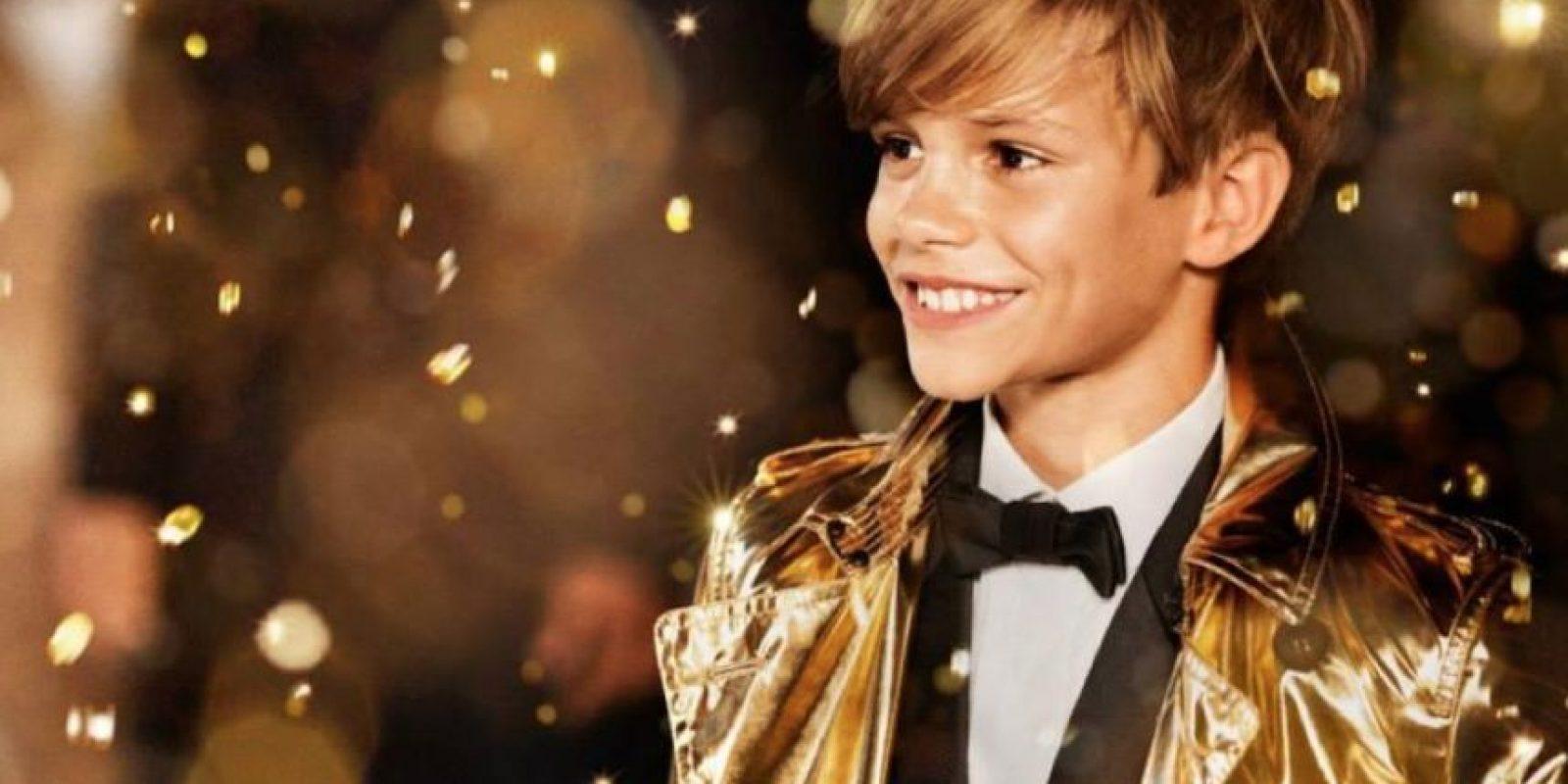 No tiene más de 14 años. Foto:Romeo Beckham/Facebook