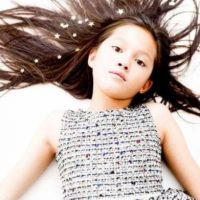 Ella se llama Lily Chee, tiene 11 años. Foto:Vogue