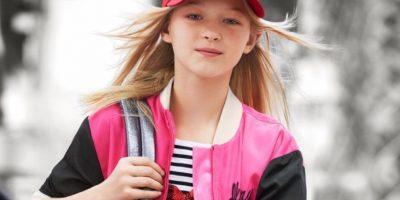 Ekaterina Samsonov tiene 11 años y es rusa. Comenzó a los 3. Foto:DKNY
