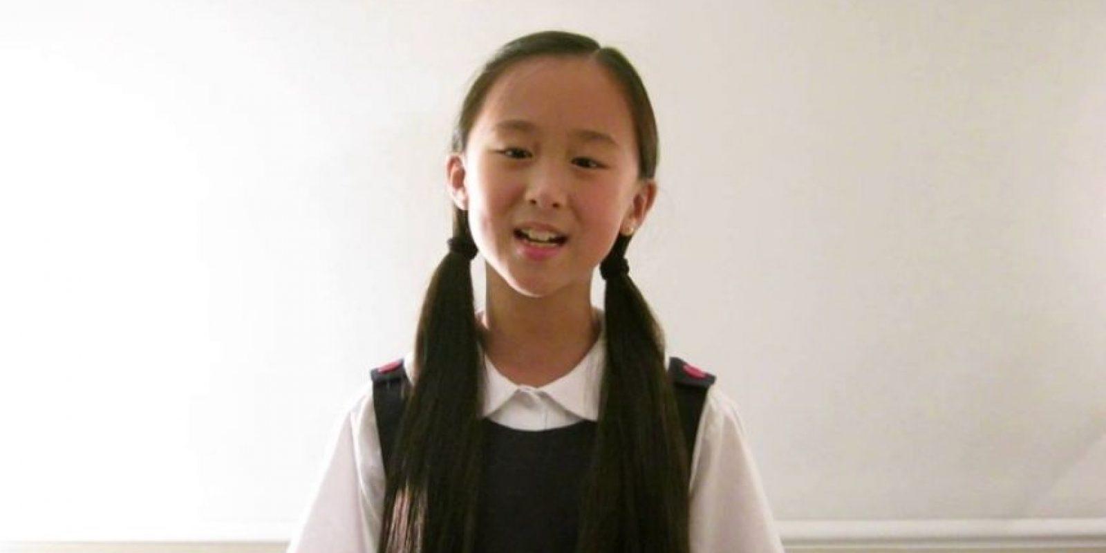 Emilie y Alexandra Su son hermanas. Una tiene 10 años y otra 7 Foto:Youtube