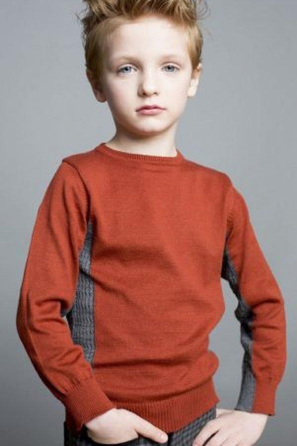 Este niño tiene 7 años. Se llama Julian O' Neill. Foto:Vogue.