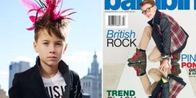 Baylor y Hudson Cryer son hermanos. Tienen 10 y 7 años. Foto:Vogue