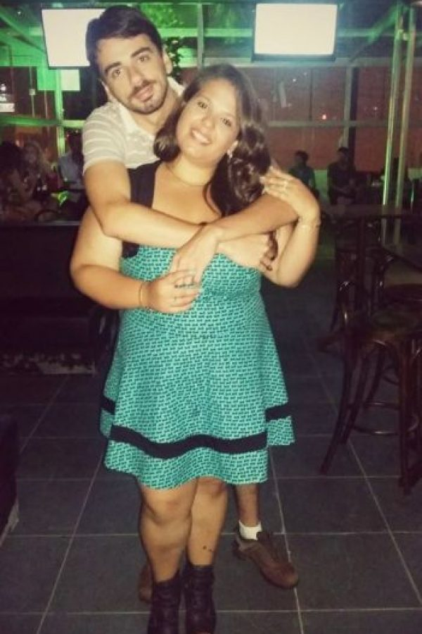 Luego de tres semanas Luana tomó la iniciativa e invitó a Rodrigo a salir. Foto:Vía Facebook.com/luh.jahnke