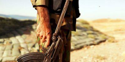 Estos esperan recuperar al pilito jordano Moaz al-Kassasbeh. Foto:Getty