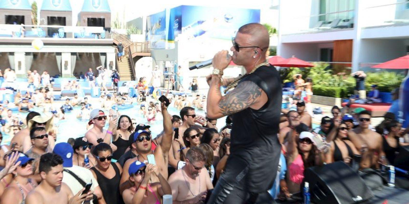 """1. La piscina Cosmopolitan conocida como """"Marquee DayClub pool"""", localizada en Las Vegas, Estados Unidos. Foto:Getty Images"""