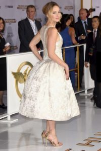 """Jennifer Lawrence ha sido nombrada la mujer más sexy por la revista """"FHM"""" Foto:Getty Images"""