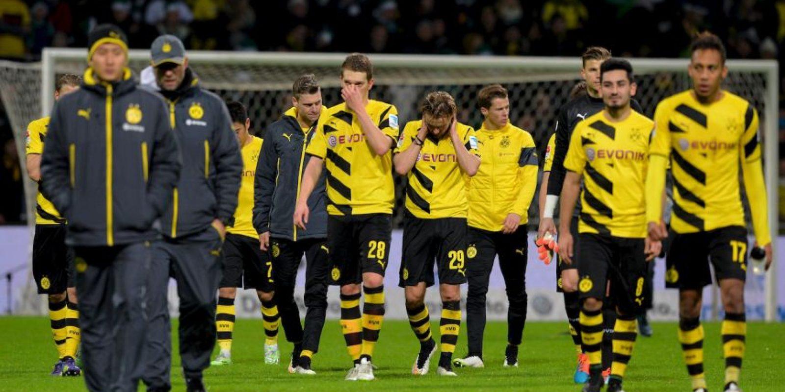 8. Borussia Dortmund Foto:Getty