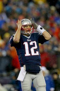 Brady completó 58 pases en la temporada Foto:Getty
