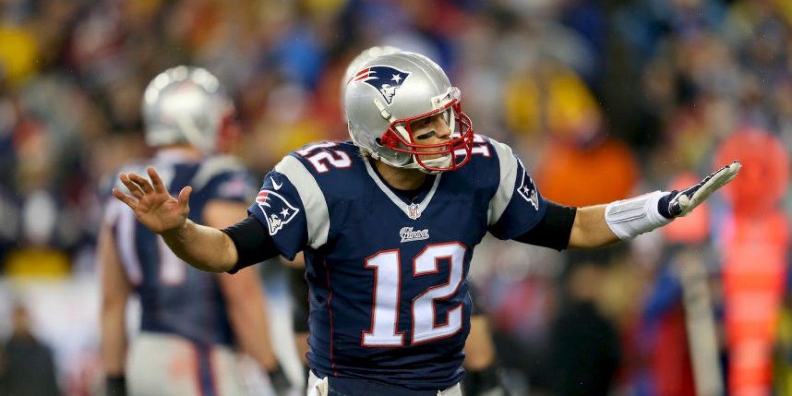 Brady sumó cuatro mil 109 yardas Foto:Getty
