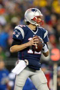Brady consiguió 33 touchdowns Foto:Getty