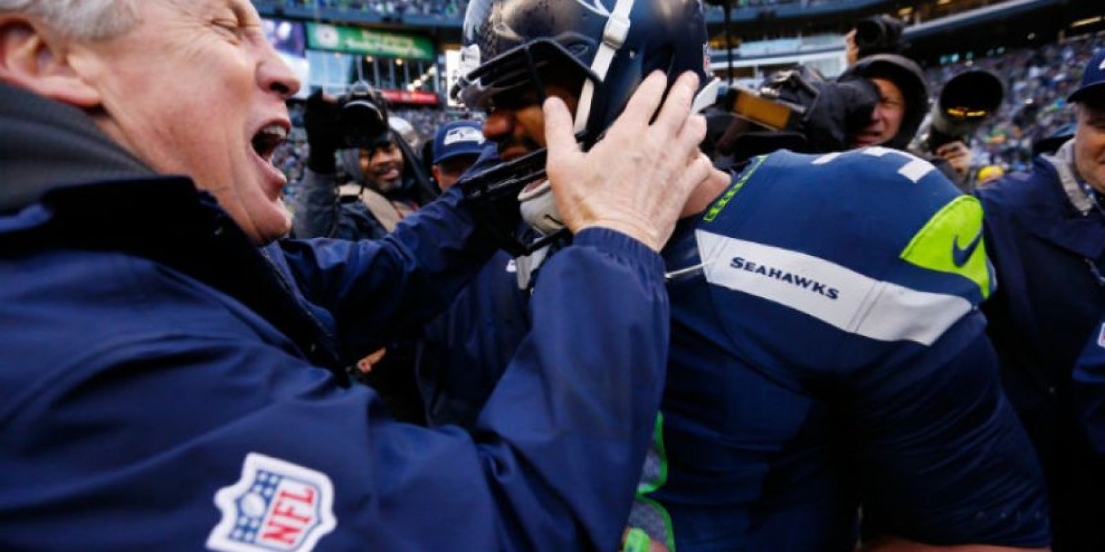 Mientras que Russell Wilson logró 20 TD Foto:Getty