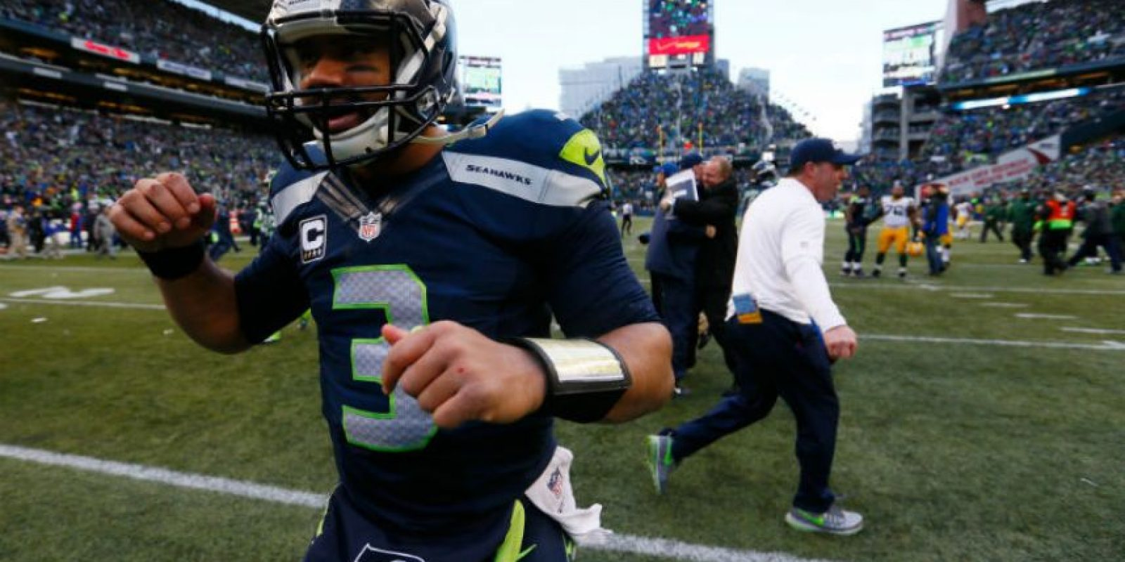 Wilson tiene tres años en la NFL Foto:Getty