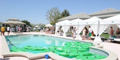 Este lugar es famoso por invitar a los asistentes una copa de champagne durante los días de mucho calor. Foto:Getty Images