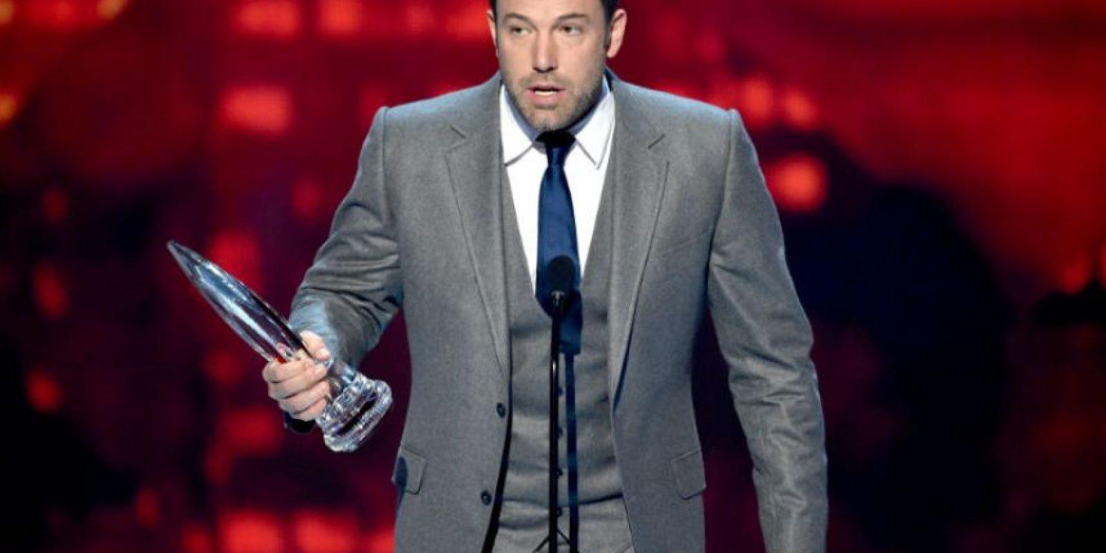 Ben Affleck: El ganador del Oscar también está con Nueva Inglaterra Foto:Getty