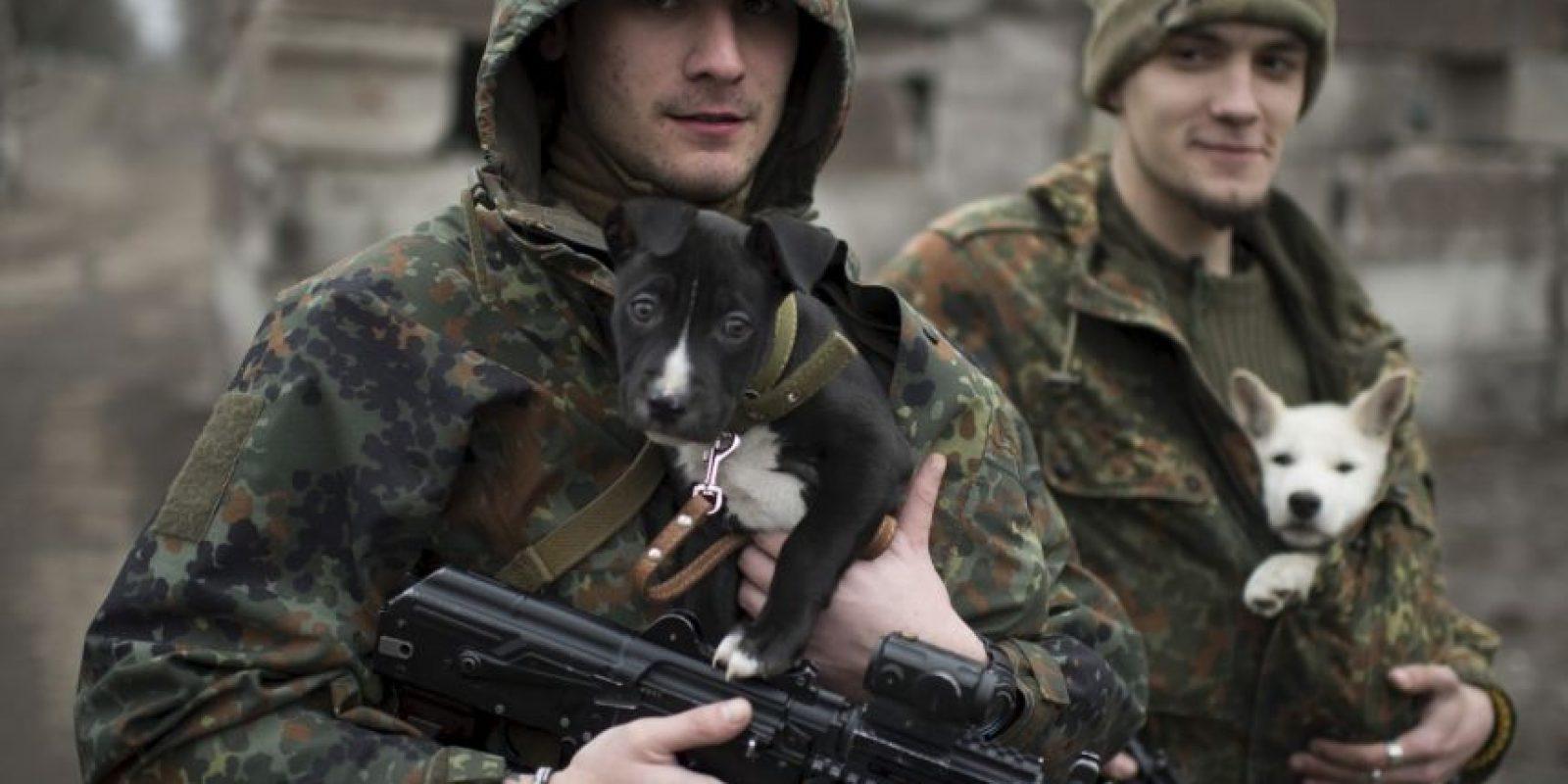 Las protestas prorrusas empezaron luego de la declaración de independencia de Donetsk y Lugansk en abril pasado. Foto:AP
