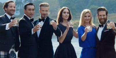 VIDEO: El polémico comercial en el que  David Beckham anuncia alcohol