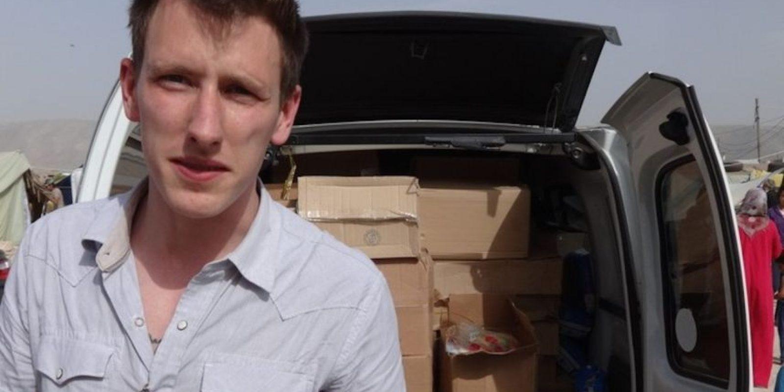 Peter Kassig, trabajador humanitario estadounidense. Foto:AP
