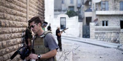 James Foley, periodista estadounidense asesinado por ISIS. Foto:AP