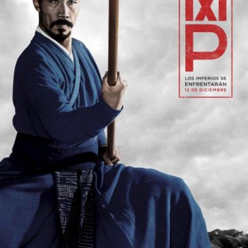 Tom Wu interpreta a Hundred Eyes, el entrenador ciego de artes marciales de Marco Polo, en la serie original de Netflix Marco Polo. Foto:Netflix