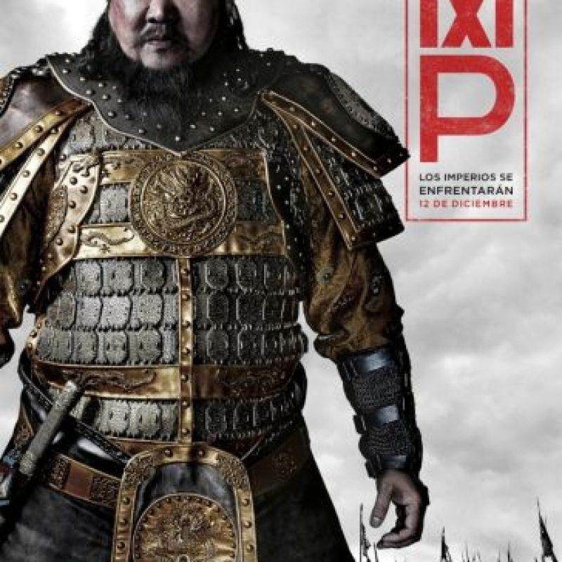 Benedict Wong interpreta al gran Kublai Khan, que lleva a Marco Polo bajo su protección durante su reino expansivo, en la serie original de Netflix Marco Polo. Foto:Netflix