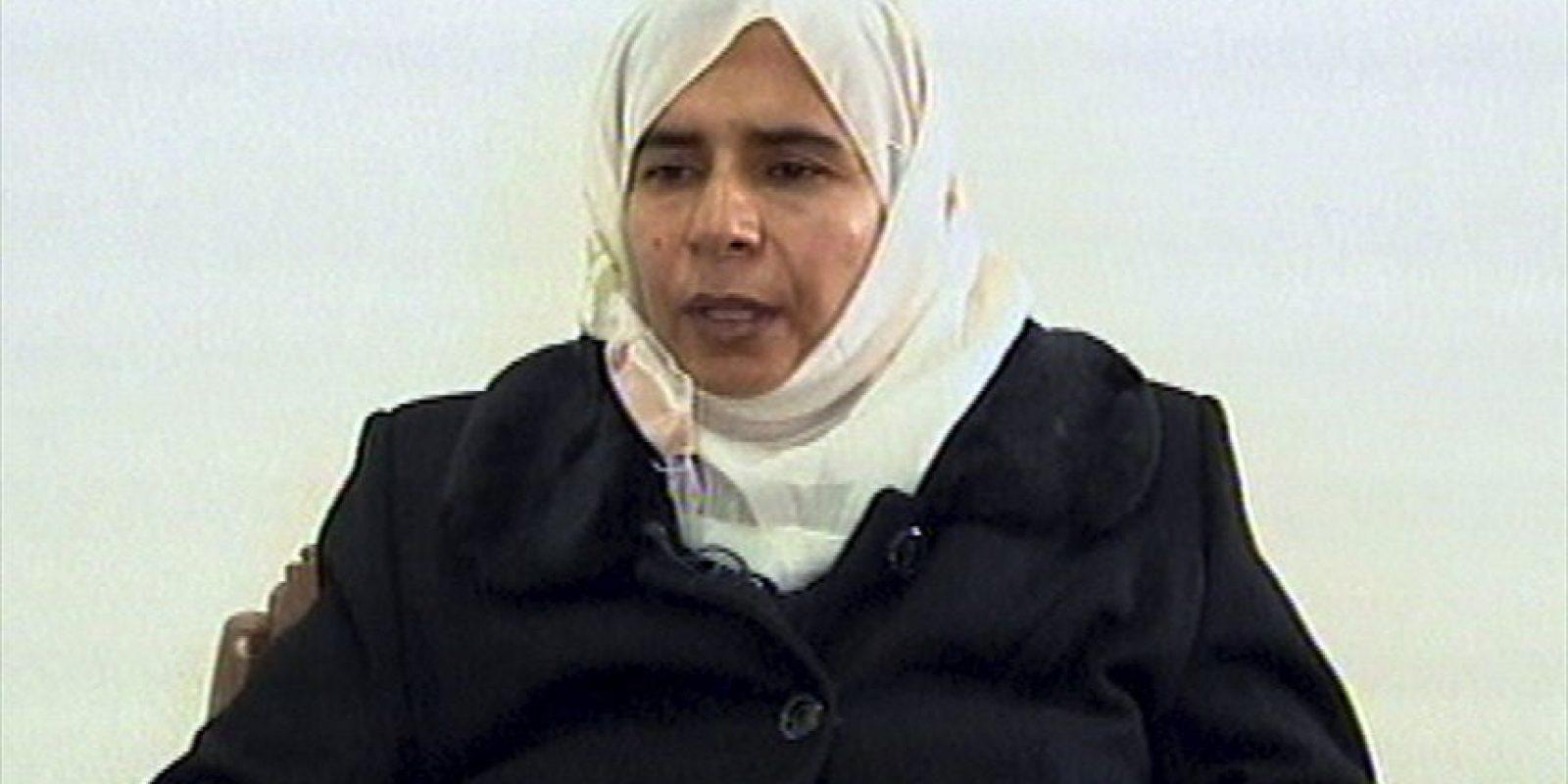 Esta es Sajida al-Rishawa, la mujer que reclama el Estado Islámico. Foto:AP