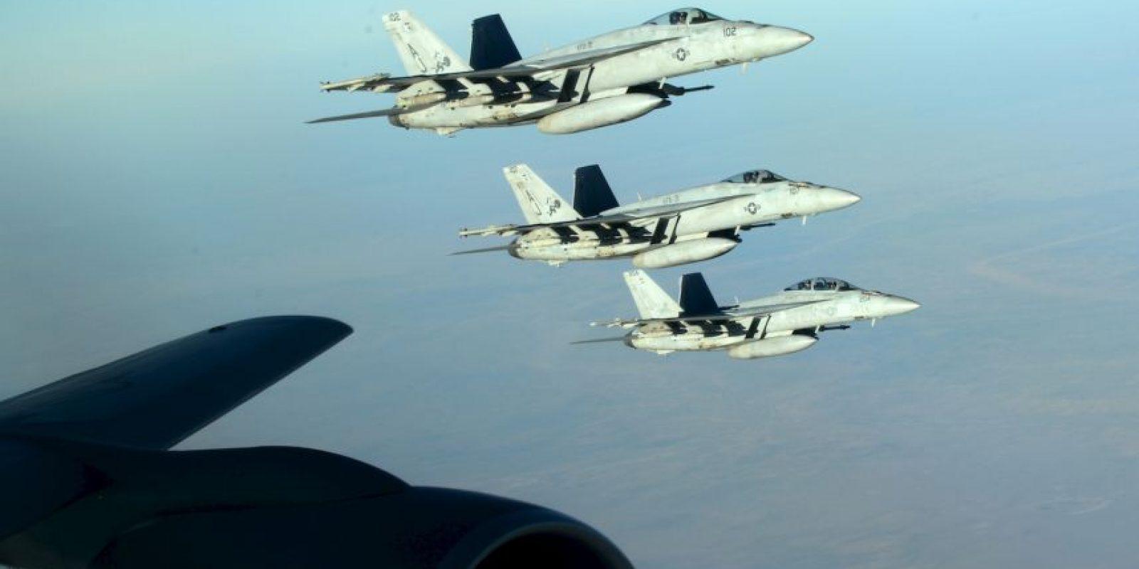 Dicha coalición está liderada por Estados Unidos. Foto:AP