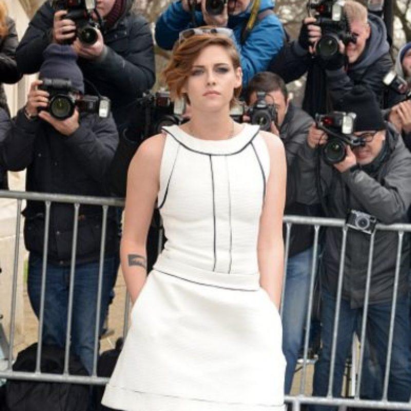 Kristen Stewart no sonríe. Foto:Getty Images