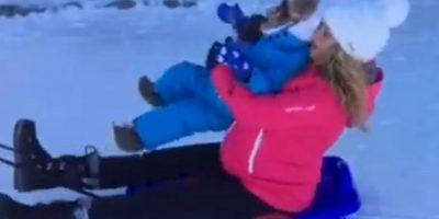 Shakira disfrutó sus vacciones en la nieve Foto: Instagram @shakira