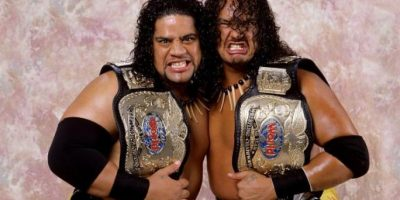 Formó un dúo con su primo Samu, el hijo de Afa Foto:WWE