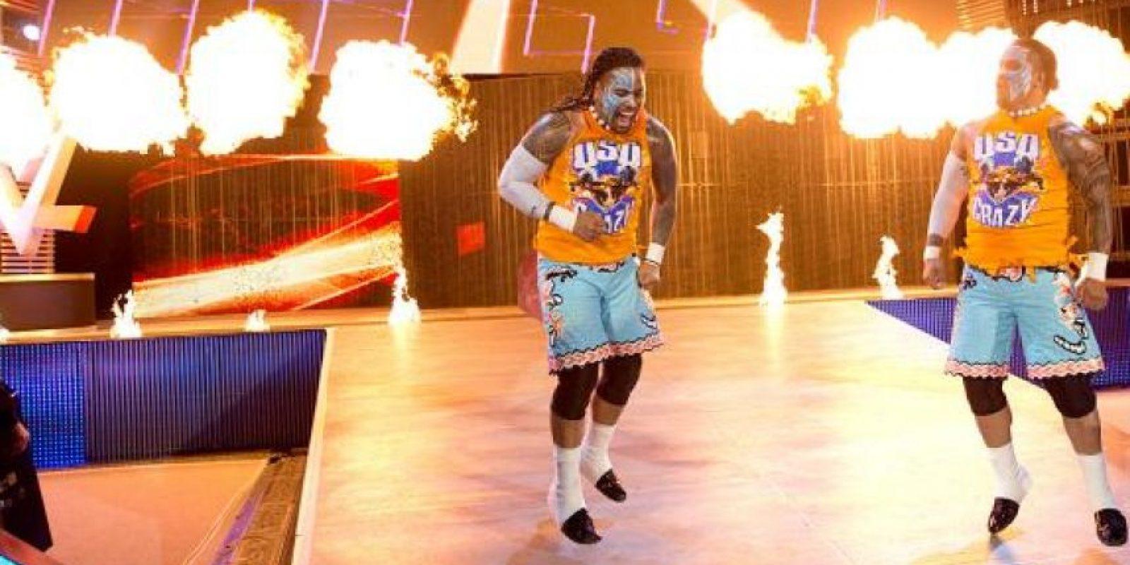 Los Uso, actuales Campeones de Pareja, son hijos de Rikishi Foto:WWE