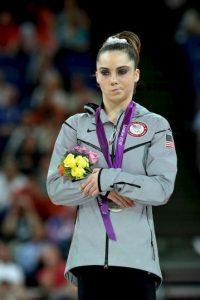 McKayla Maroney – Estados Unidos. Medalla de oro por equipos y medalla de plata en salto de potro en Londres 2012. Foto:Getty Images