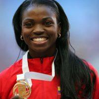 Catherine Ibargüen – Colombia. Medalla de plata en salto triple en Londres 2012. Foto:Getty Images