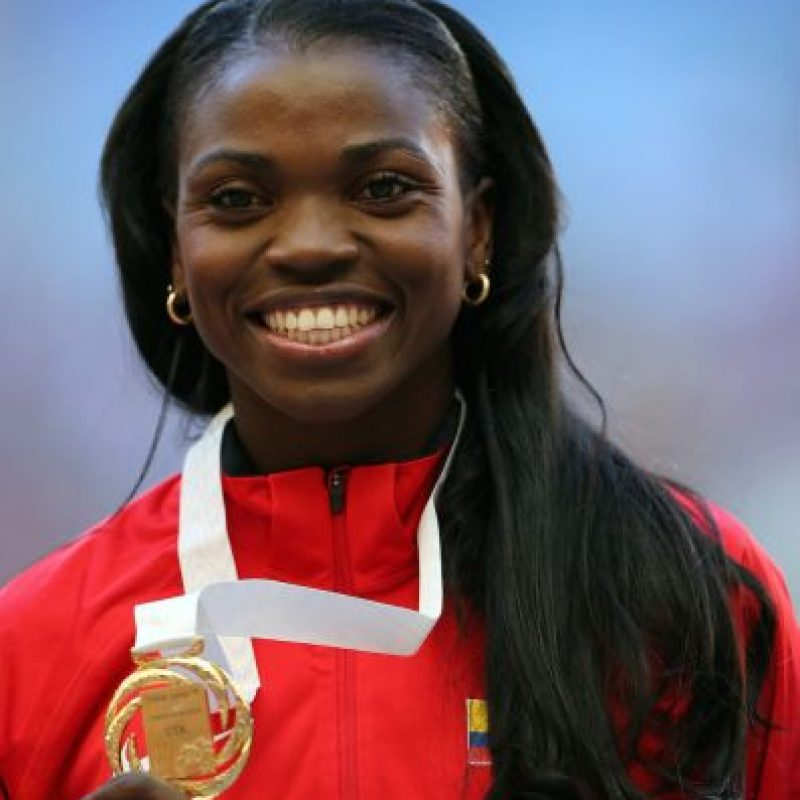 Catherine Ibargüen – Colombia. Medalla de plata en salto triple en Londres 2012. Foto: Getty Images