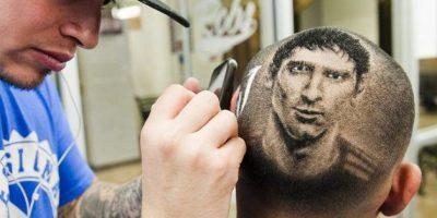FOTOS. El peluquero que convierte el cabello en una obra de arte