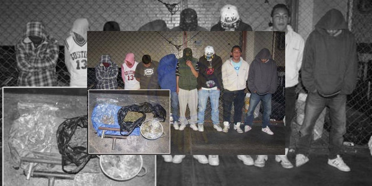 Remiten a siete menores por distribución de droga