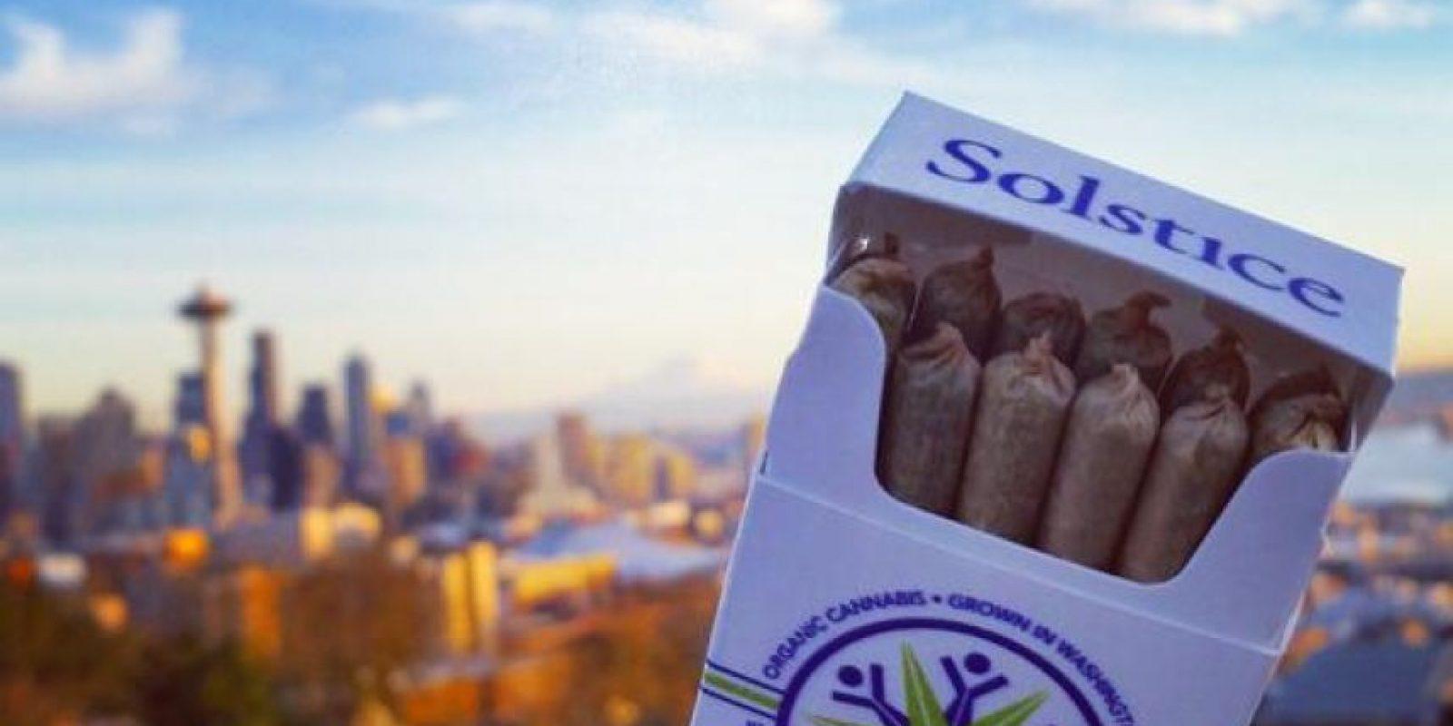La empresa Solstice lanzó un souvenir de marihuana medicinal en el marco del partido más esperado de la temporada Foto:Twitter: @solsticegrown