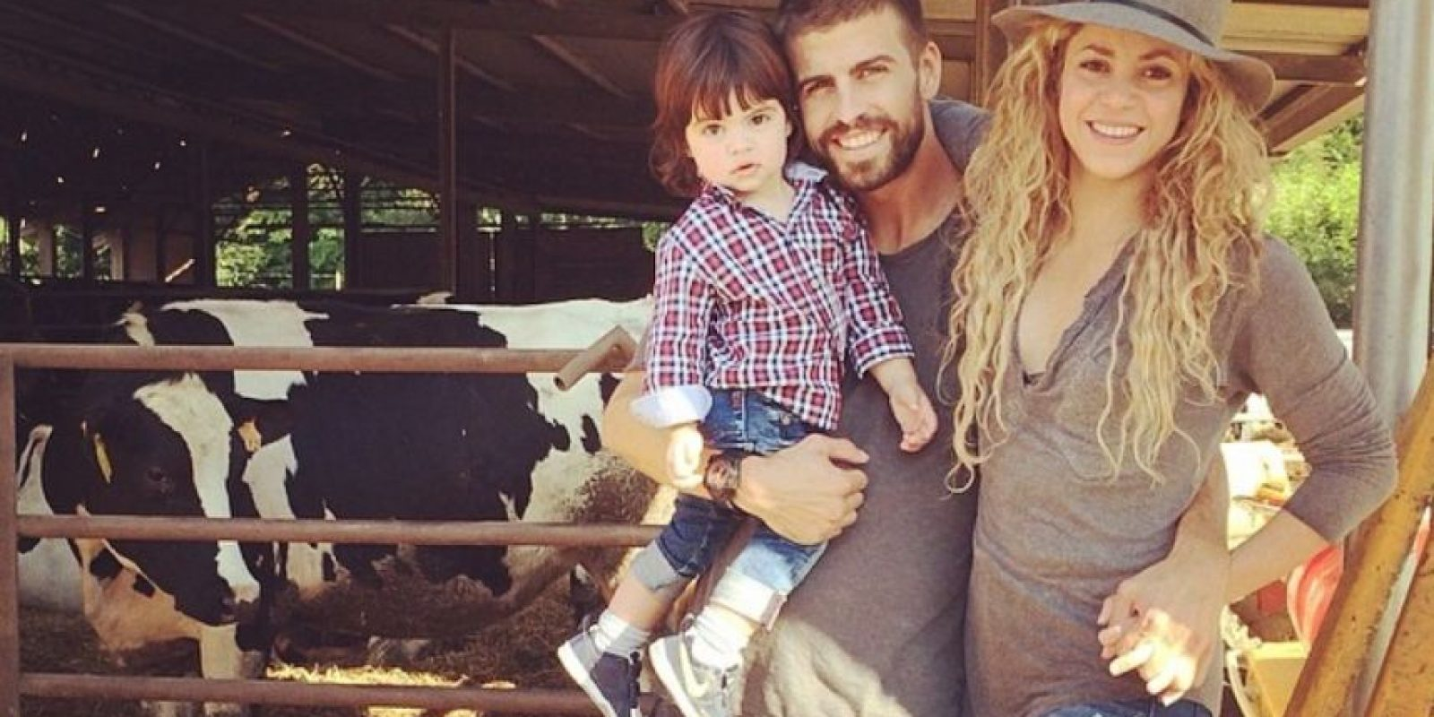 Mira las mejores imágenes de la familia Piqué Mebarak Foto:Instagram: @3gerardpique