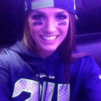 Suele postear imágenes con los colores de los Seahawks Foto:Instagram: @misstoriblack