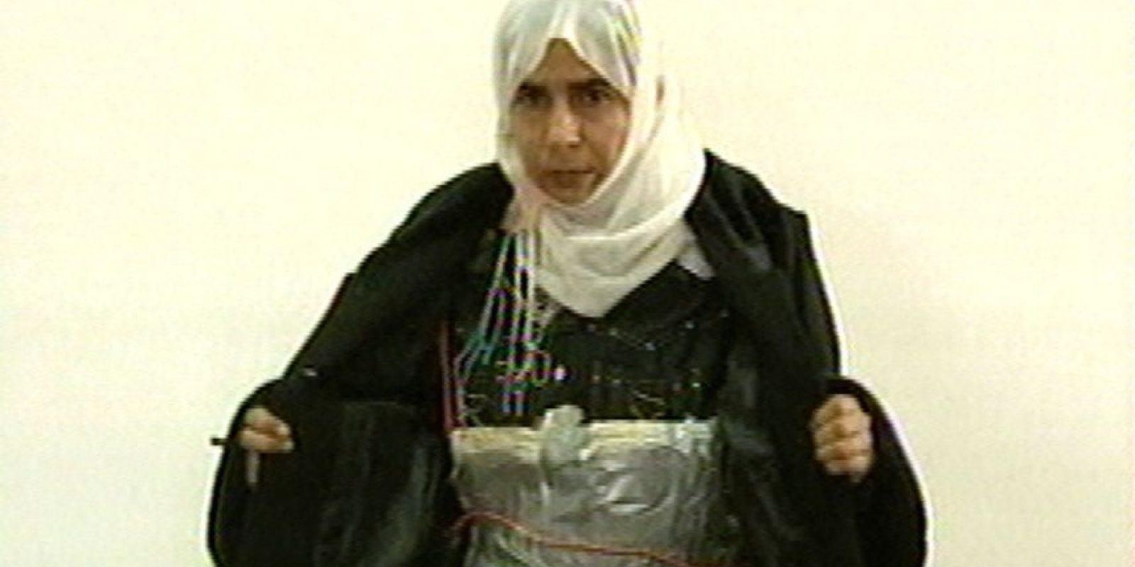 Acusada de intentar detonar una bomba en un hotel. Foto:AP