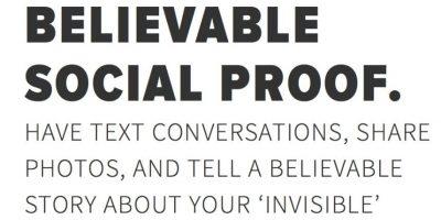 Al inscribirse en la página se podrán recibir mensajes de nuestra pareja virtual en tiempo real. Foto:Invisibleboyfriend.com