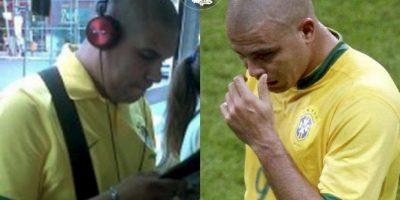 Ronaldo Foto:Parecidos De Bondis/Facebook