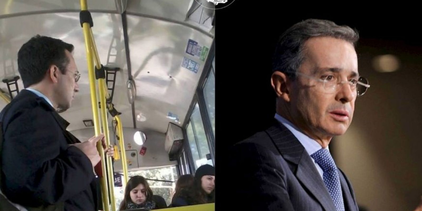 Álvaro Uribe, expresidente de Colombia Foto:Parecidos De Bondis/Facebook
