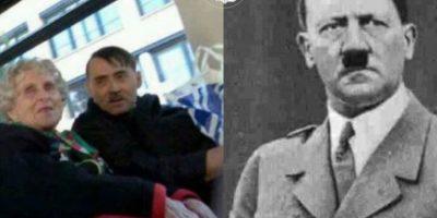 Hitler Foto:Parecidos De Bondis/Facebook