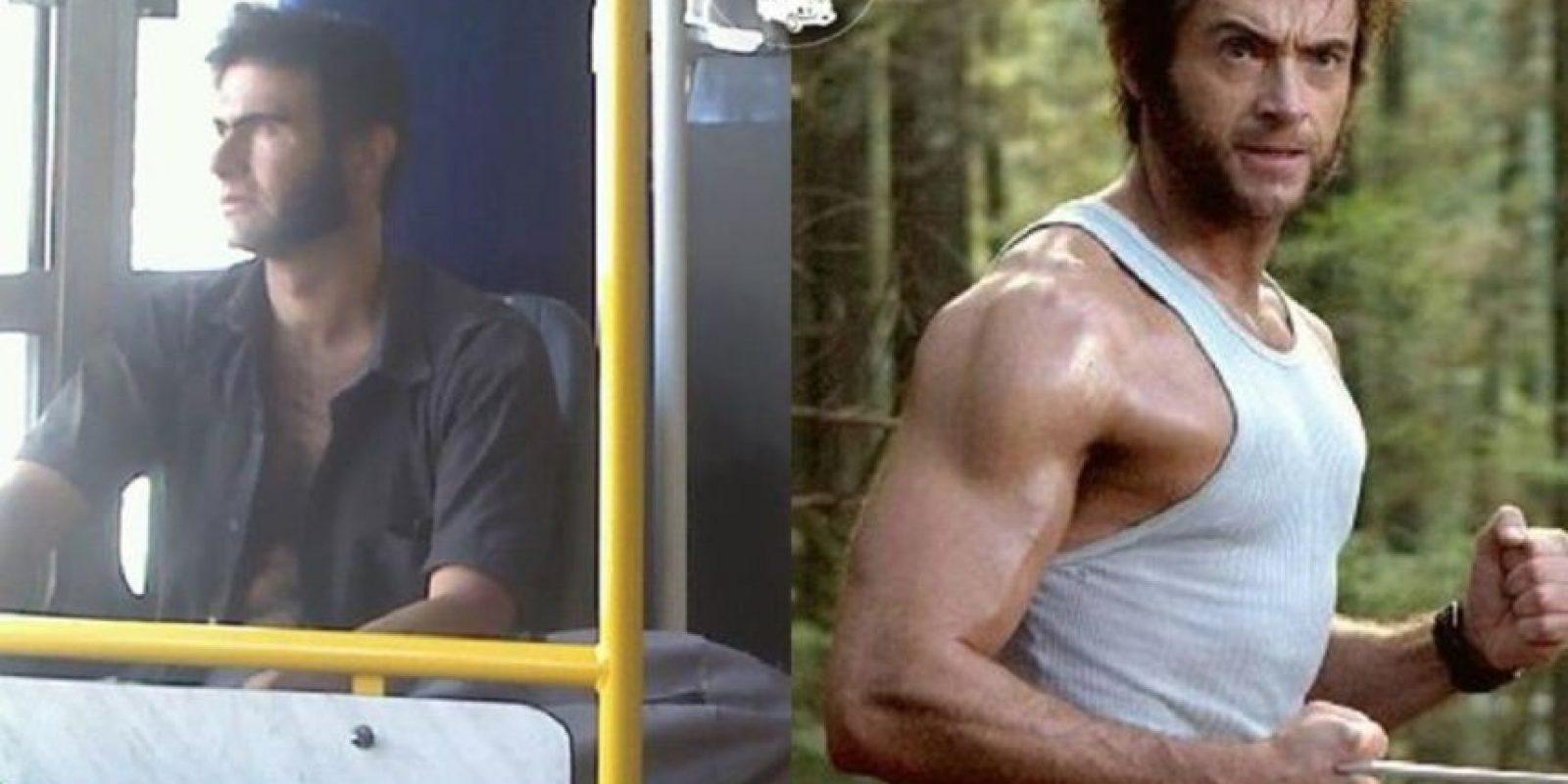 Wolverine Foto:Parecidos De Bondis/Facebook