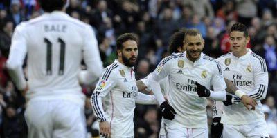 Real Madrid golea a la Real Sociedad con doblete de Benzema