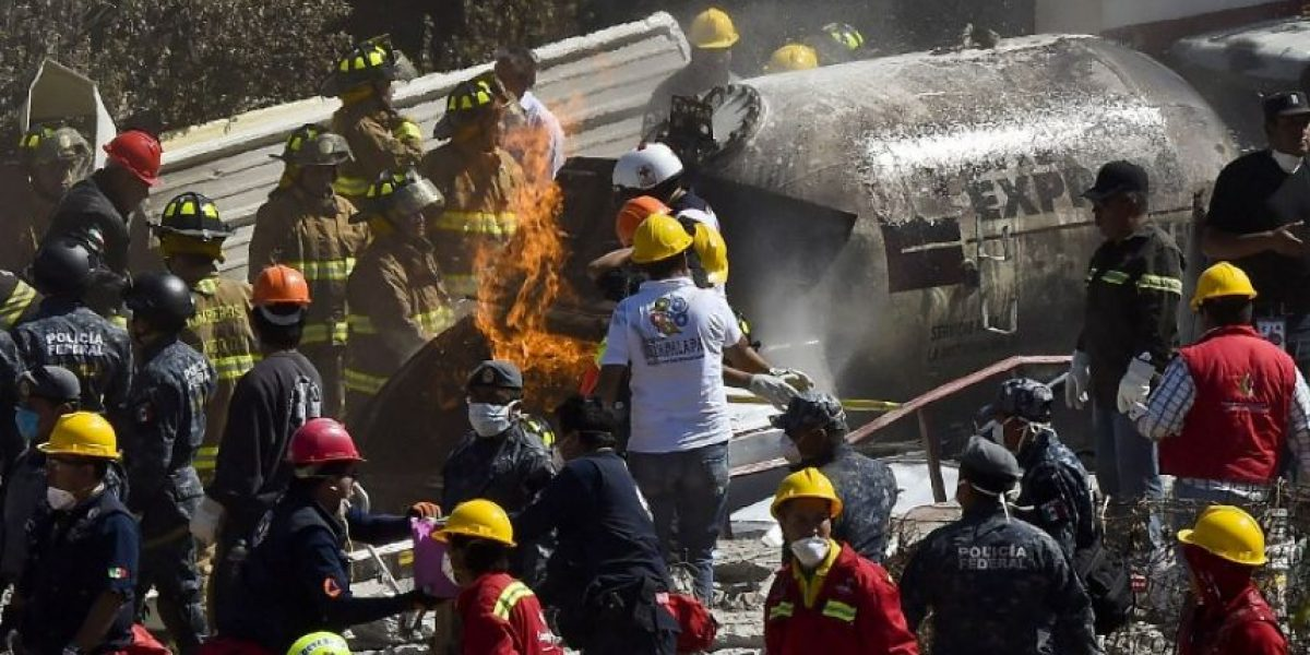 VIDEO. Usuario publica momento exacto de la explosión en hospital de México