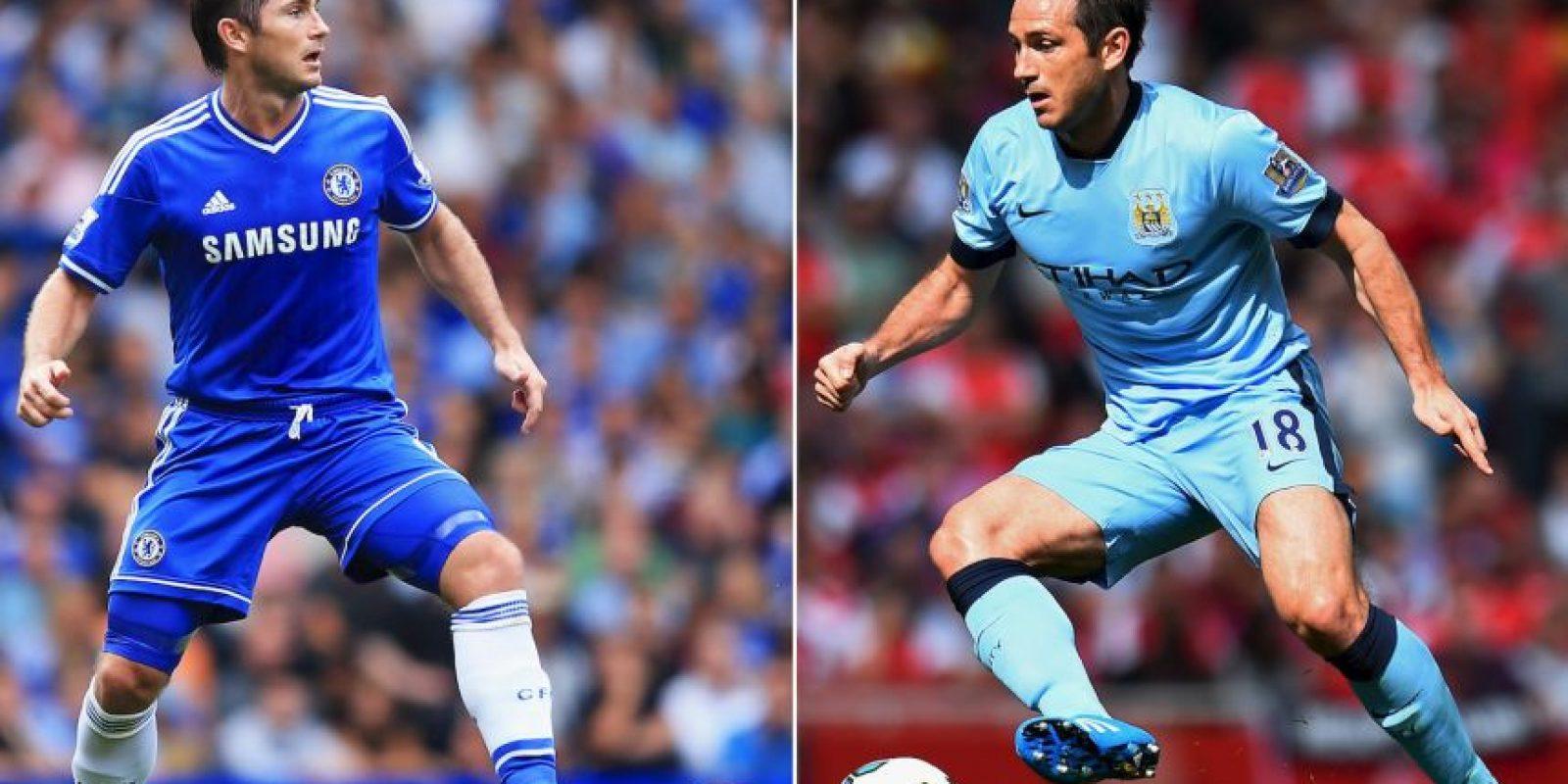 Frank Lampard, ahora con los Citizens, enfrentará a su ex equipo Foto:Getty