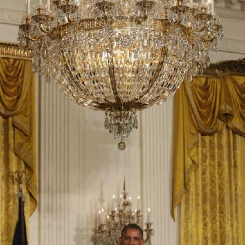 Obama utiliza el Cadillac Escalade para sus compromisos oficiales Foto:Getty