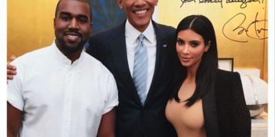Esta foto confirma que Kim Kardashian y Obama son amigos