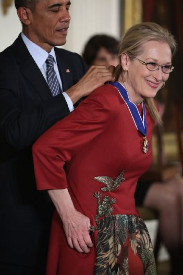 Con Meryl Streep Foto: Getty Images